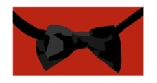 bowtie,bow tie,tie,black,red,colour,color,clothing,clothes,accessory,formal,formal wear,formalwear