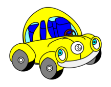 vw,beetle,happy,car,cartoon,icon