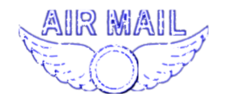 unchecked,air mail,blue,wing,vintage,rubber stamp,media,clip art,public domain,image,svg,png