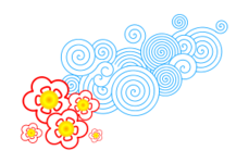 flor,nube,amarillo,azul,rojo,colour,cartoon,media,clip art,how i did it,public domain,image,png,svg