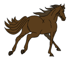 Vector for free use: Horse Vector Clip Art