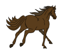 media,clip art,public domain,image,png,svg,animal,mammal,horse,brown,running