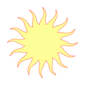 weather,sign,symbol,sun,yellow,media,clip art,public domain,image,png,svg