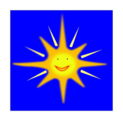 weather,sun,happy,smile,sky,blue,media,clip art,public domain,image,png,svg