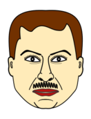 person,man,face,moustache,media,clip art,public domain,image,png,svg