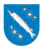 coat of arm,poland,fish,flower