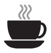coffee,tea,cup,steam,icon,silhouette