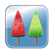ice,ice candy,ice pop,summer,food,sweet,icon,water melon,melon