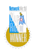 Networkworld,Blue,Ribbon,Winner