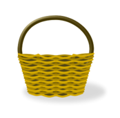 cesta,basket,mimbre,shopping cart,vacía,empty,shopping basket
