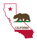 california,flag,map,outline,bear