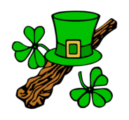 media,clip art,externalsource,public domain,image,png,svg,hat,clothing,weapon,stick,shillelagh,irish,leprechaun,patricks day