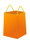 media,clip art,public domain,image,png,svg,basket,shop,bag,checkout,shopping,buy,orange