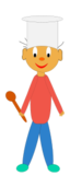 media,clip art,public domain,image,png,svg,cartoon,people,face,clothing,house,activity,housework,cook,cuisine,food
