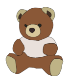 cartoon,animal,toy,mascot,teddy,bear,brown