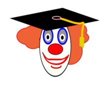 media,clip art,public domain,image,png,svg,clown,graduate,education,cartoon