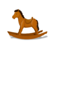 media,clip art,public domain,image,jpg,svg,rocking,horse,brown,wood,toy,kid,christmas,kid