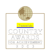 Country,Awards,For,Achievement,2003
