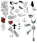 hart of thi osean,jimiyo,motorcity,bird,collection,wing,nature,animal,skull,miscellaneous,object,anchor,heart